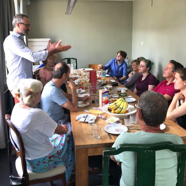 sociale benadering dementie lunch