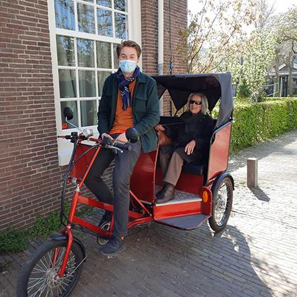 Een eigen fiets-taxi