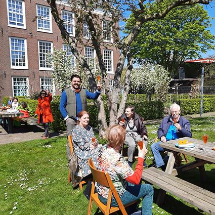 Picknicken in de Hoftuin